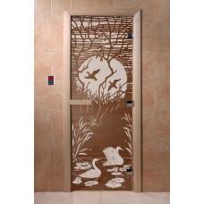 """DoorWood Дверь бронза """"Лебединое озеро"""""""