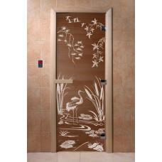 """DoorWood Дверь бронза """"Камышовый рай"""""""