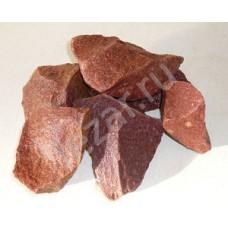 Кварцит малиновый (колотый) 20кг