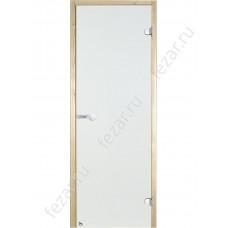 HARVIA Дверь стеклянная 7/19 коробка ольха осина прозрачная