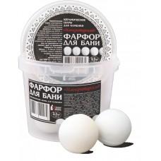 """Фарфор для бани """"Императорский"""" 3,3 кг"""