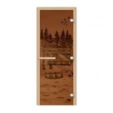 FireWay Дверь Банька в лесу 1,9х0,7