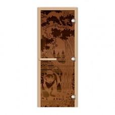 FireWay Дверь Мишка в лесу 1,9х0,7