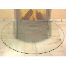HARK Предтопочный лист округлый стекло