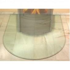 HARK Предтопочный лист маленький полукруг стекло