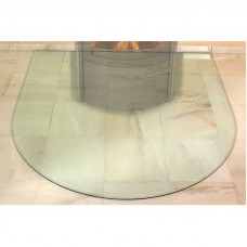 HARK Предтопочный лист большой полукруг стекло