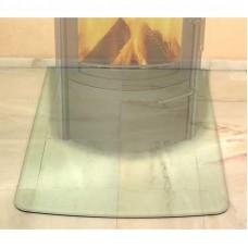 HARK Предтопочный лист сегментная арка стекло