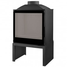 LISEO CASTIRON LCI 5 GF BG Stove, черное стекло