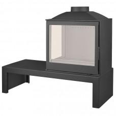 LISEO CASTIRON LCI 5 GFL Table, стекло слева