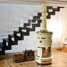 SERGIO LEONI Maria Luigia ivory керам.колонна ажурная крышка