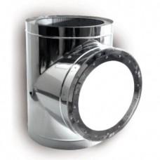 ВУЛКАН Взрывной клапан DTEVH D200 с изол.50мм нерж321/нерж304
