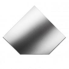 ВУЛКАН Предтопочный лист VPL021-INBA 1100х1100 зеркальный